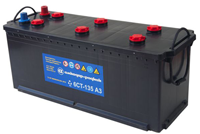 Starter batteries nominal capacity of 100 to 200 Axh